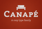 Canape [4 Fonts] | The Fonts Master