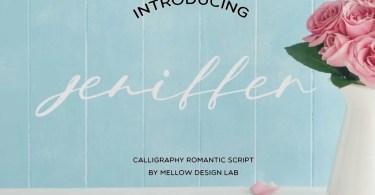 Jeniffer Script [1 Font] | The Fonts Master