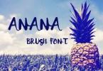 Anana [1 Font] | The Fonts Master