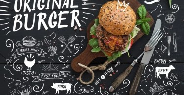 Original Burger [1 Font + Extras] | The Fonts Master