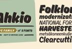 Ahkio [5 Fonts] | The Fonts Master