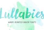 Lullabies [7 Fonts] | The Fonts Master