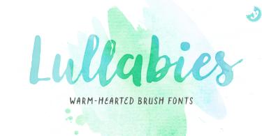 Lullabies [7 Fonts]   The Fonts Master