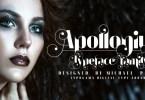 Apollonius [1 Font] | The Fonts Master