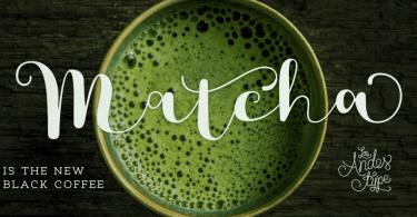 Matcha [2 Fonts] | The Fonts Master