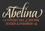 Abelina [2 Fonts] | The Fonts Master