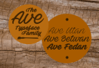 Ave [6 Fonts] | The Fonts Master