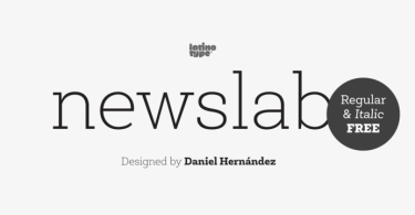 Newslab [16 Fonts]   The Fonts Master