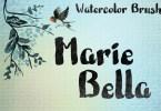 Marie Bella [1 Font] | The Fonts Master