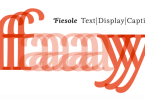 Fiesole [17 Fonts]   The Fonts Master