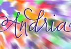Andria [1 Font] | The Fonts Master