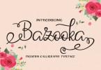 Bazooka [1 Font] | The Fonts Master