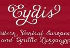 Eydis [4 Fonts] | The Fonts Master