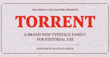 Torrent [5 Fonts]