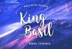 King Basil [1 Font] | The Fonts Master