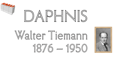 Daphnis [1 Font] | The Fonts Master