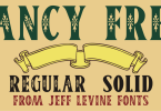 Fancy Free Jnl [2 Fonts] | The Fonts Master