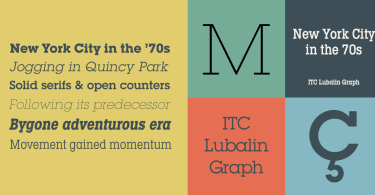 Itc Lubalin Graph Super Family [37 Fonts] | The Fonts Master
