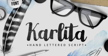 Karlita [1 Font] | The Fonts Master