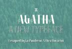Agatha [3 Fonts] | The Fonts Master