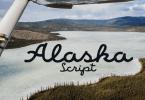 Alaska Script [1 Font] | The Fonts Master