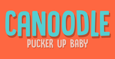 Canoodle [2 Fonts] | The Fonts Master