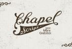 Chapel Script [2 Fonts] | The Fonts Master