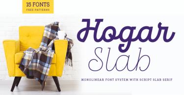 Hogar Slab Super Family [16 Fonts]   The Fonts Master