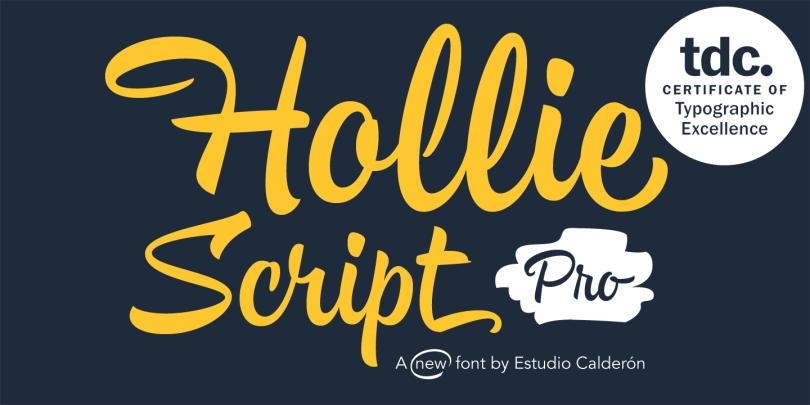 Hollie Script Pro [2 Fonts]   The Fonts Master