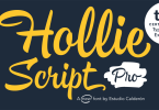 Hollie Script Pro [2 Fonts] | The Fonts Master