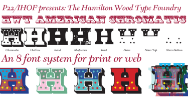 Hwt American Chromatic [8 Fonts] | The Fonts Master