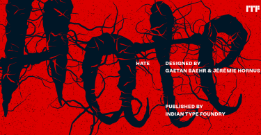 Hate [1 Font] | The Fonts Master