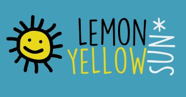 Lemon Yellow Sun [1 Font]   The Fonts Master