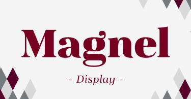 Magnel Display [8 Fonts] | The Fonts Master