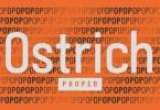 Ostrich Proper [6 Fonts] | The Fonts Master