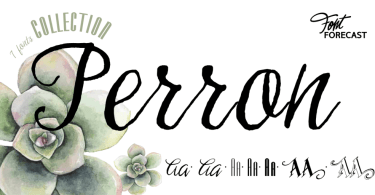 Perron [6 Fonts] | The Fonts Master