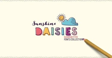 Sunshine Daisies [13 Fonts]   The Fonts Master