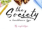 Society [1 Font] | The Fonts Master