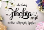 Phobia Script [1 Font] | The Fonts Master