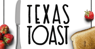 Texas Toast [1 Font]   The Fonts Master
