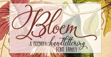 Bloem [2 Fonts] | The Fonts Master