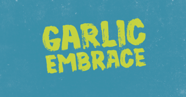 Garlic Embrace [1 Font] | The Fonts Master