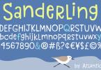 Sanderling [1 Font] | The Fonts Master