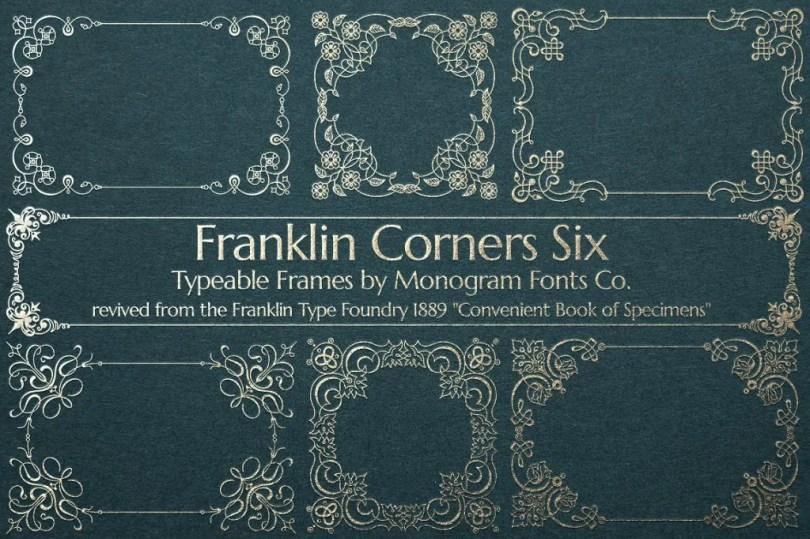 Mfc Franklin Corners Six [1 Font]   The Fonts Master