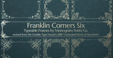 Mfc Franklin Corners Six [1 Font] | The Fonts Master