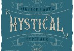 Mystic Label [5 Fonts] | The Fonts Master