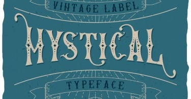 Mystic Label [5 Fonts] | The Fonts Master