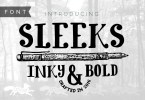 Sleeks Bold [1 Font] | The Fonts Master