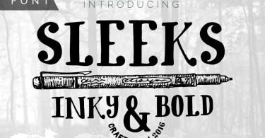 Sleeks Bold [1 Font]   The Fonts Master