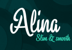 Alina [2 Fonts] | The Fonts Master